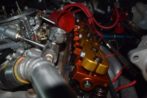 Camaro small block engine setting